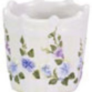 Morning Glory Ceramic Votive Holder #10167 (NWT)